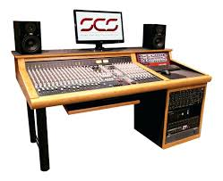 impressive music studio desk recording studio desk deluxe melamine