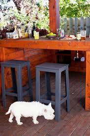 furniture vintage furniture foot rest tall backless bar stools