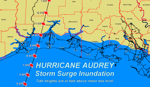 Louisiana On A Map by Tropical Weather