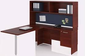 bureau en l bureau en l retour droit avec étagère série 300 solutions m3