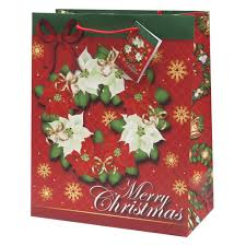 christmas paper bags 12 pack assorted christmas gift bags medium health