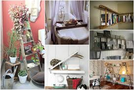 creative ideas home decor 20 creative ways to use ladders for home decorating