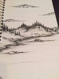 25 trending landscape drawings ideas on pinterest drawing