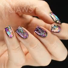 copycat claws 26 great nail art ideas black base