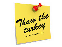 thawing your thanksgiving turkey extension daily