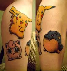 9 best pokemon tattoo images on pinterest cartoon tattoos