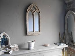 Gothic Home Decor Uk Gothic Church Mirrortwo Arch Antique Window Frame22 Inches