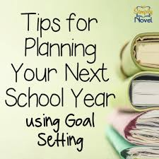 planning your year with goal setting middleschoolmaestros