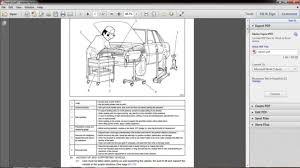 Toyota Corolla 2004 Repair Manual Youtube