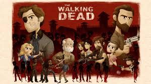 walking dead poster by erich0823 on deviantart