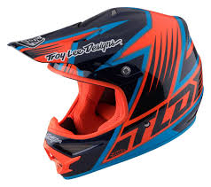 orange motocross helmet troy lee designs 2017 air vengeance navy helmet mxstore picks