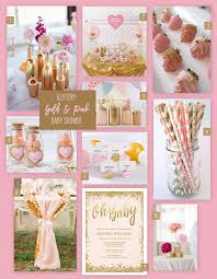 gold and pink baby shower a glittery gold and pink baby shower corner stork baby gifts