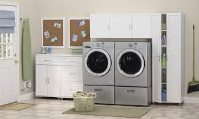 Premade Laundry Room Cabinets by Amazon Com Systembuild 24