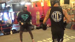 15 year old amatuer boxing champion vs pro ufc fighter go to war