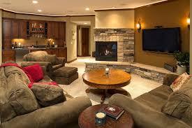 seal basement walls interior designs with wall mounted tv tan wall