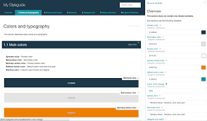 generate online guid sc5 style guide generator