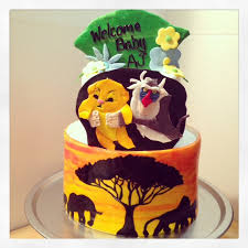 lion king baby shower lion king themed baby shower cakecentral