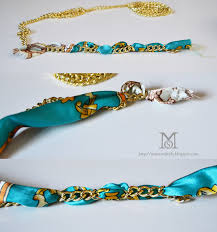 diy bracelet with chain images A matter of style diy fashion build your arm party how to make jpg