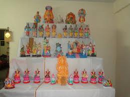 Navratri Decoration At Home Navarathiri Gollu Ideas Tips Home Style Veg Food