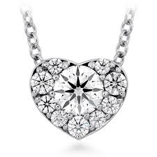 diamond necklace hearts images Hof diamond necklaces la boutique del gioiello png