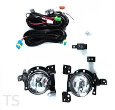 kit set fog lamp spot lights for mitsubishi mirage space star
