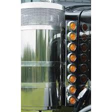 peterbilt air cleaner lights front air cleaner lights w 8 2in incandescent peterbilt