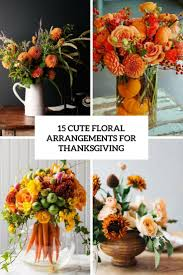 15 floral arrangements for thanksgiving shelterness