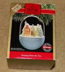 hallmark lighted ornaments ebay