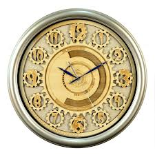 clock wood carving painting painting living room decorative