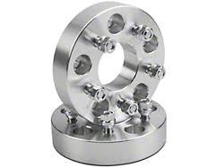 rugged ridge wrangler wheel spacer adapter pair to convert w 5x5