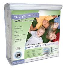protect a bed premium potty training hypoallergenic waterproof