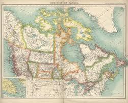canada maps map of canada circa 1900 canada mappery