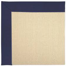 Faux Sisal Rugs Home Depot by Capel Zoe Beach Sisal Navy 4 Ft X 4 Ft Area Rug