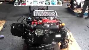 subaru boxer engine turbo motor subaru impreza sti ej20 turbo youtube
