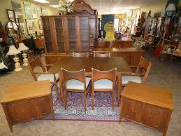 Danish Modern Dining Room Chairs Mid Century Danish Modern Broyhill Saga Dining Room Set