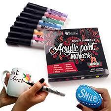 amazon com permanent paint pens for glass painting ceramic