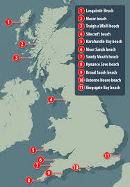 Cornwall England Map by The Uk U0027s 10 Best Secret Beaches Revealed Daily Mail Online