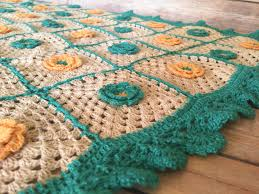 beige crochet throw baby shower gift handmade gift fair