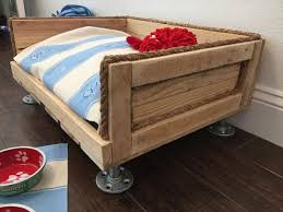 Wood Bed Legs Pallet Dog Bed With Metal Legs Pallet Furniture Plans