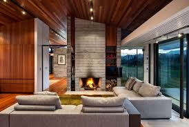 home interior materials modern ranch style home with land loving layout and materials