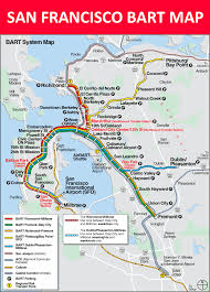 Outsidelands Map Map Bart Muni Bus Bart Train System Map Muni System Map Future