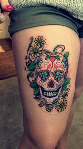 my sugar skull tattoo tatoos pinterest sugar skull tattoos