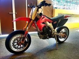 honda crf450r supermotard