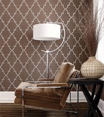 modern wallpaper metallic brown geometric print brown v u2026 flickr