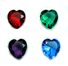 heart shaped items 11x12mm heart shaped faceted supreme quality diamond cut glass