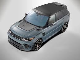 land rover overfinch overfinch range rover sport has futuristic body kit and carbon