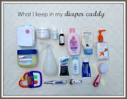 what i keep in my organized diaper caddy diaper caddy diapers