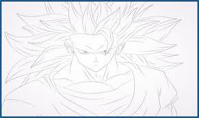 imagenes de goku para dibujar faciles con color imagenes de dragon ball z para dibujar de goku archivos imagenes