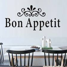 Dining Room Wall Quotes by Compare Prices On Sticker Bon Appetit Online Shopping Buy Low