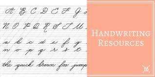 handwriting resources boho berry boho berry